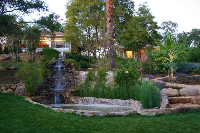 ojai retreat waterfall gardens